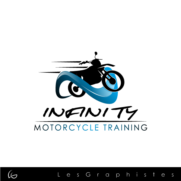 Logo Design by Les-Graphistes - Entry No. 5 in the Logo Design Contest INFINITY MOTORCYCLE TRAINING.