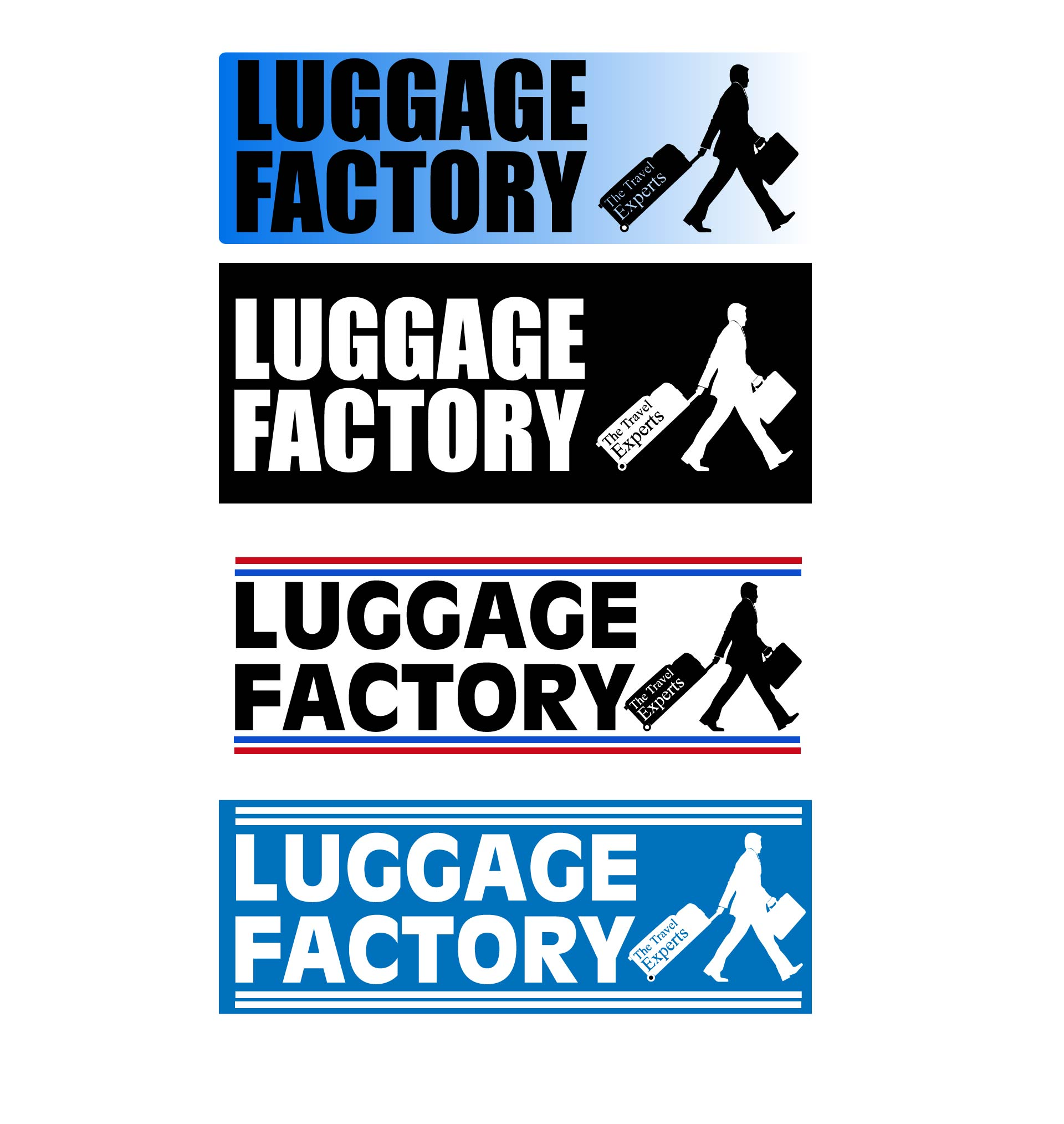 Logo Design by chAnDOS - Entry No. 168 in the Logo Design Contest Creative Logo Design for Luggage Factory.