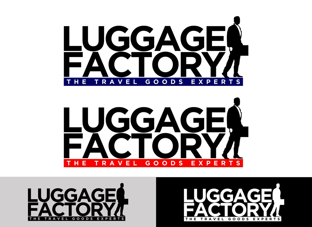 Logo Design by Juan_Kata - Entry No. 172 in the Logo Design Contest Creative Logo Design for Luggage Factory.
