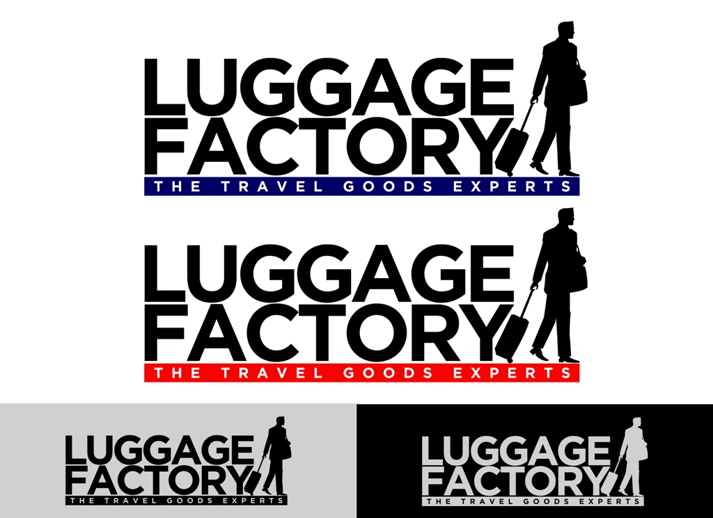 Logo Design by Juan_Kata - Entry No. 173 in the Logo Design Contest Creative Logo Design for Luggage Factory.