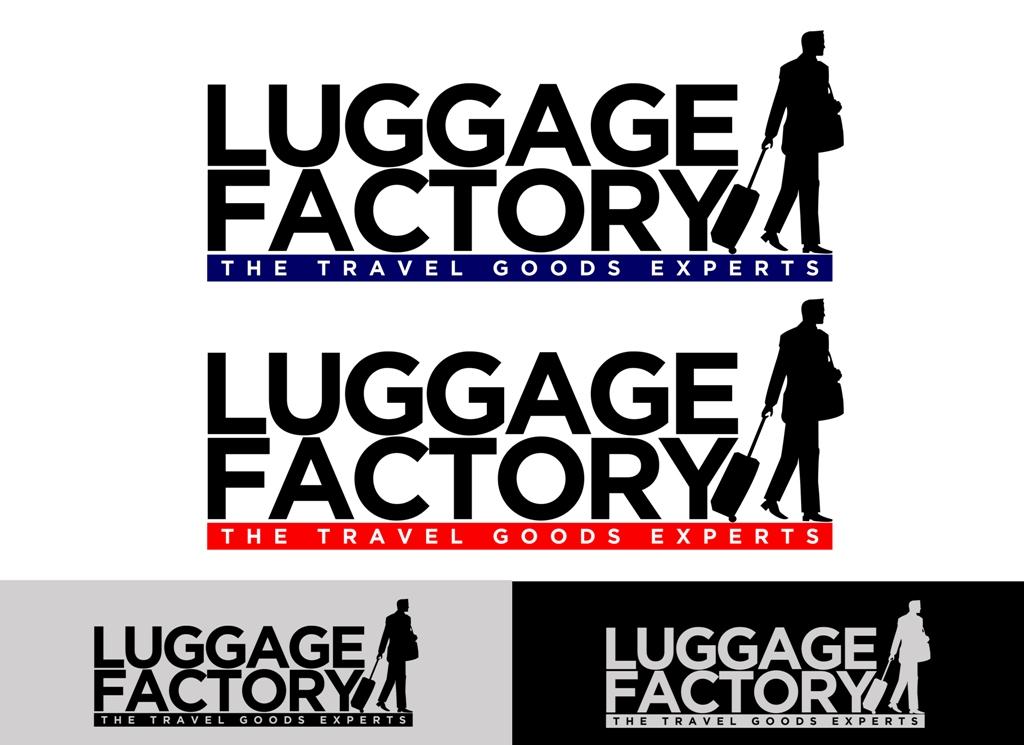 Logo Design by Juan_Kata - Entry No. 173 in the Logo Design Contest Creative Logo Design for Luggage Factory.
