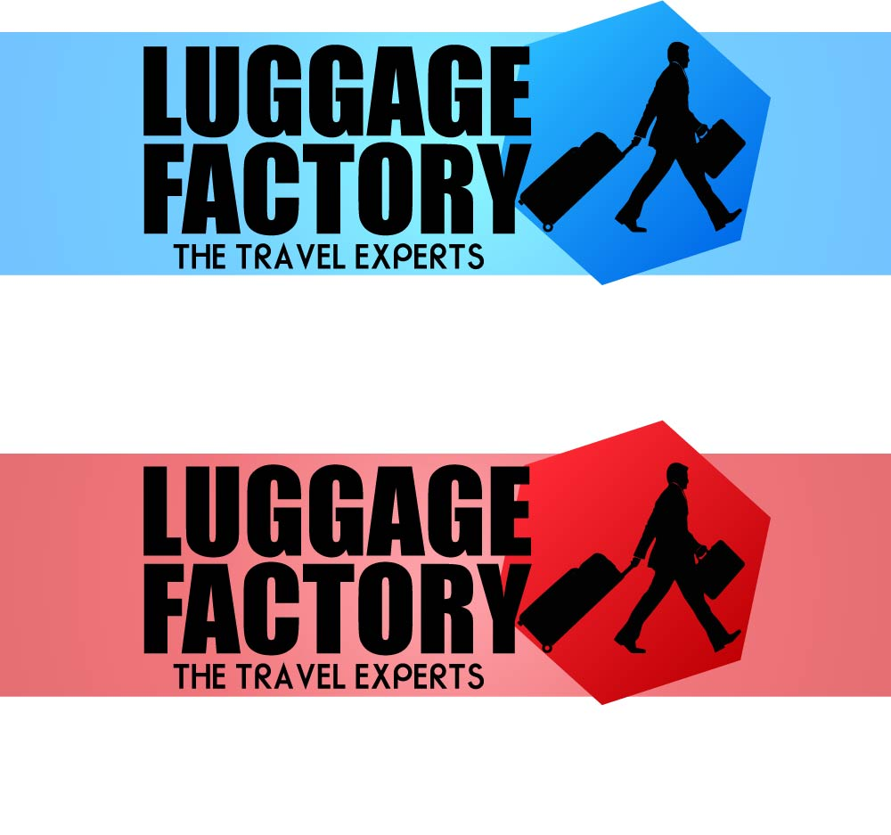 Logo Design by chAnDOS - Entry No. 176 in the Logo Design Contest Creative Logo Design for Luggage Factory.