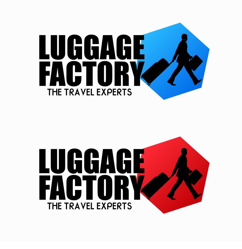 Logo Design by chAnDOS - Entry No. 177 in the Logo Design Contest Creative Logo Design for Luggage Factory.