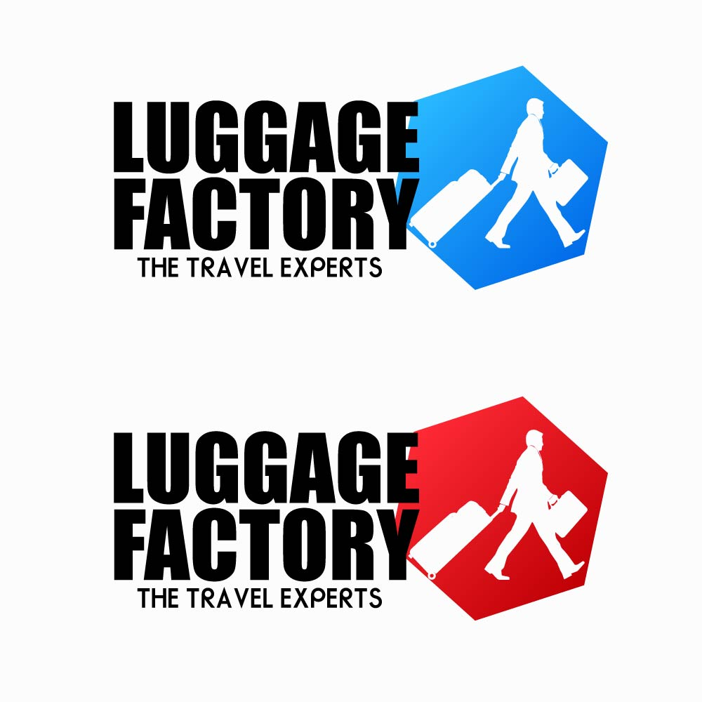 Logo Design by chAnDOS - Entry No. 178 in the Logo Design Contest Creative Logo Design for Luggage Factory.