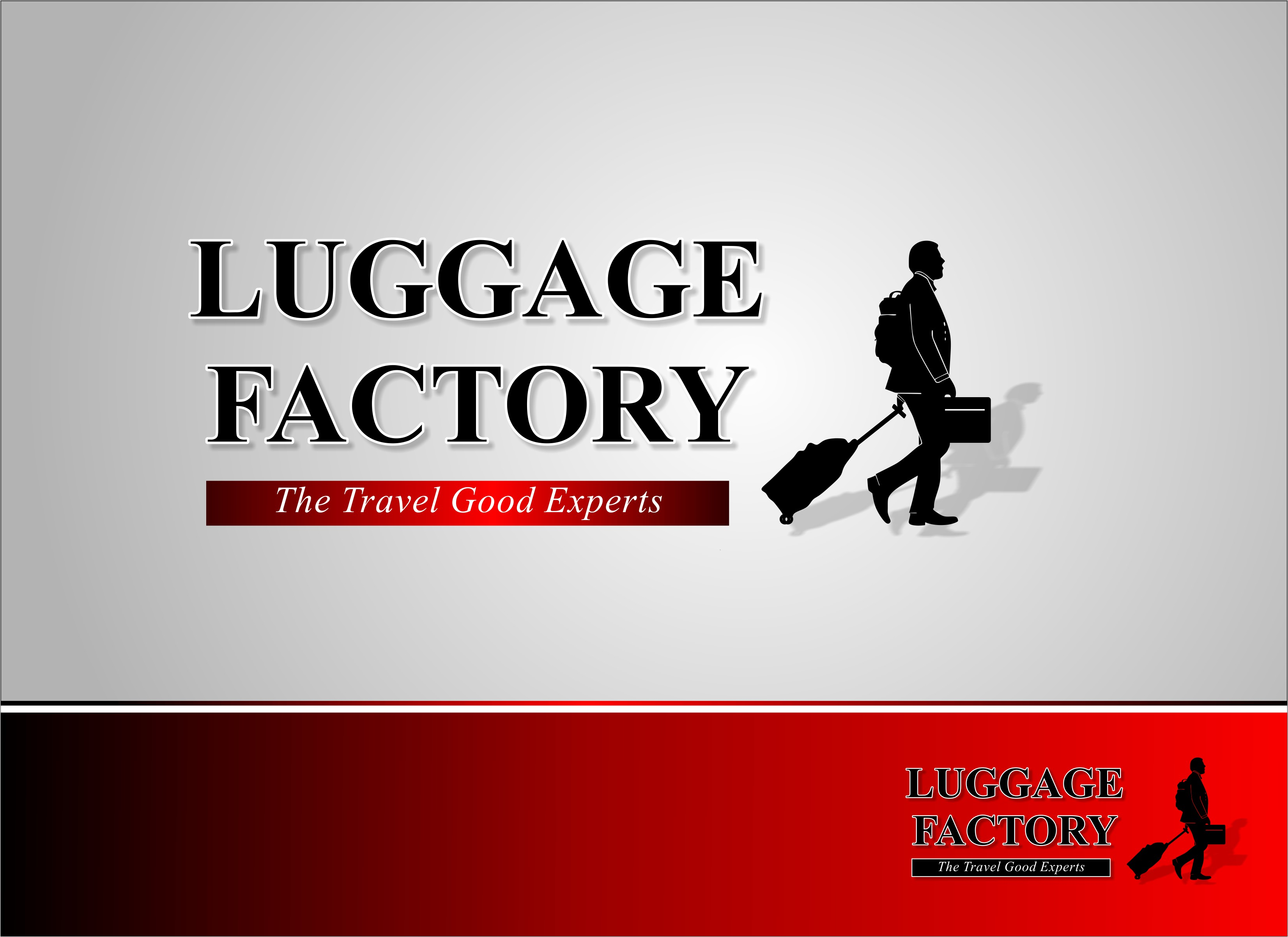 Logo Design by Mhon_Rose - Entry No. 182 in the Logo Design Contest Creative Logo Design for Luggage Factory.