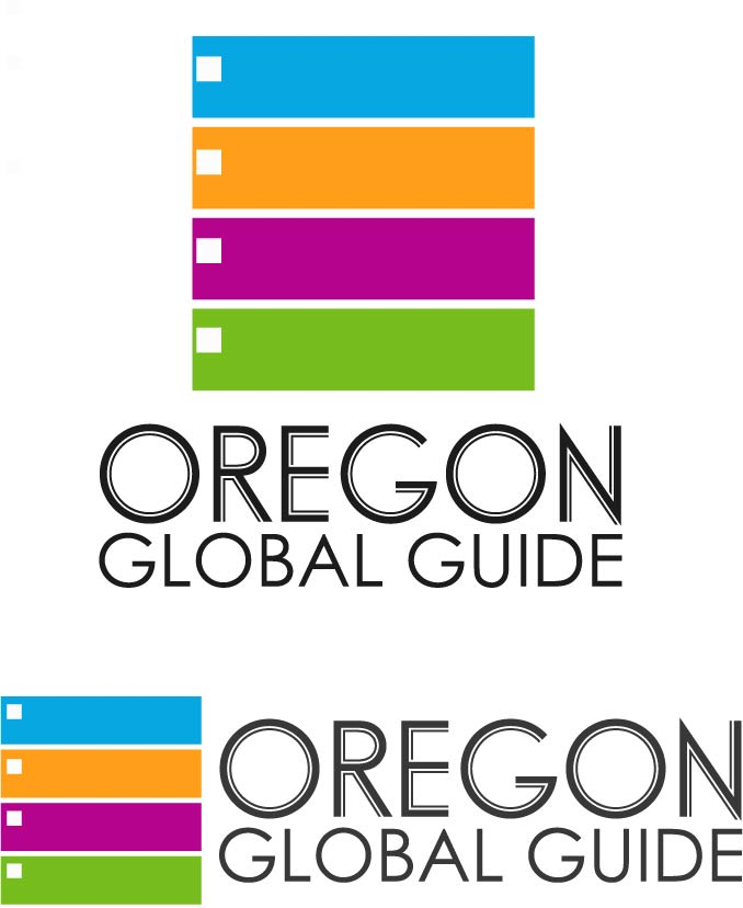 Logo Design by chAnDOS - Entry No. 75 in the Logo Design Contest New Logo Design for Oregon Global Guide.