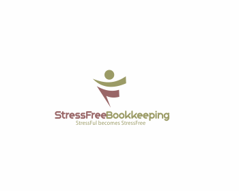 Logo Design by nuril - Entry No. 70 in the Logo Design Contest StressFree Bookkeeping.