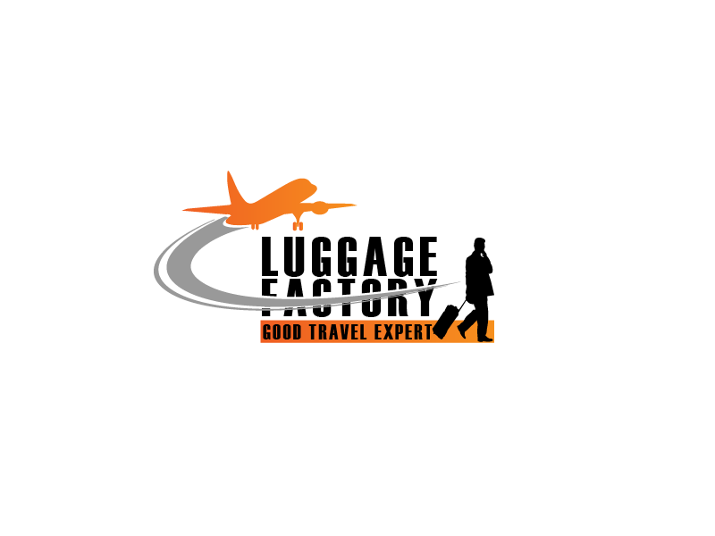 Logo Design by Private User - Entry No. 184 in the Logo Design Contest Creative Logo Design for Luggage Factory.