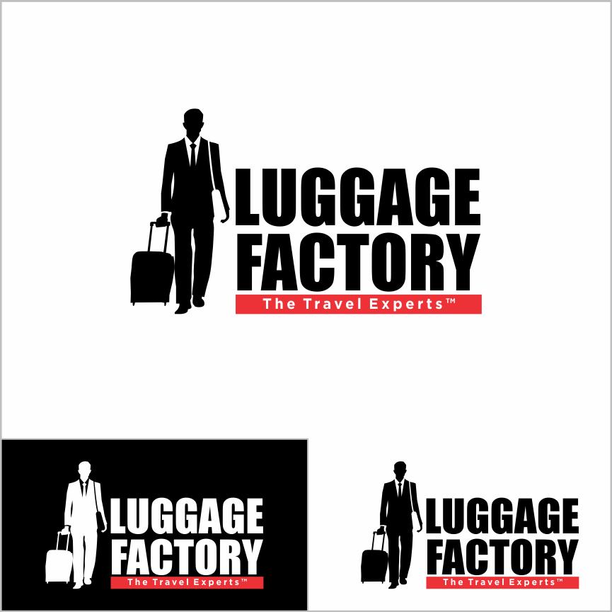 Logo Design by Armada Jamaluddin - Entry No. 185 in the Logo Design Contest Creative Logo Design for Luggage Factory.
