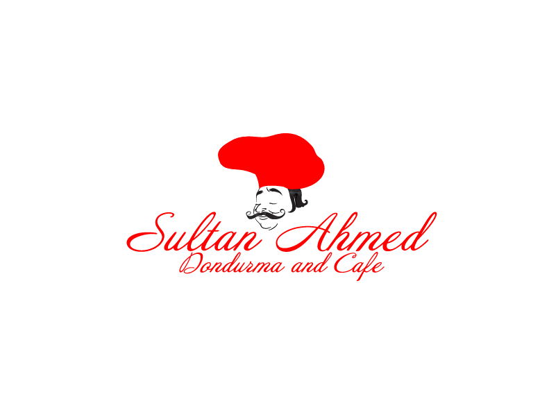 Logo Design by Private User - Entry No. 42 in the Logo Design Contest Unique Logo Design Wanted for Sultan Ahmed Dondurma and Cafe.