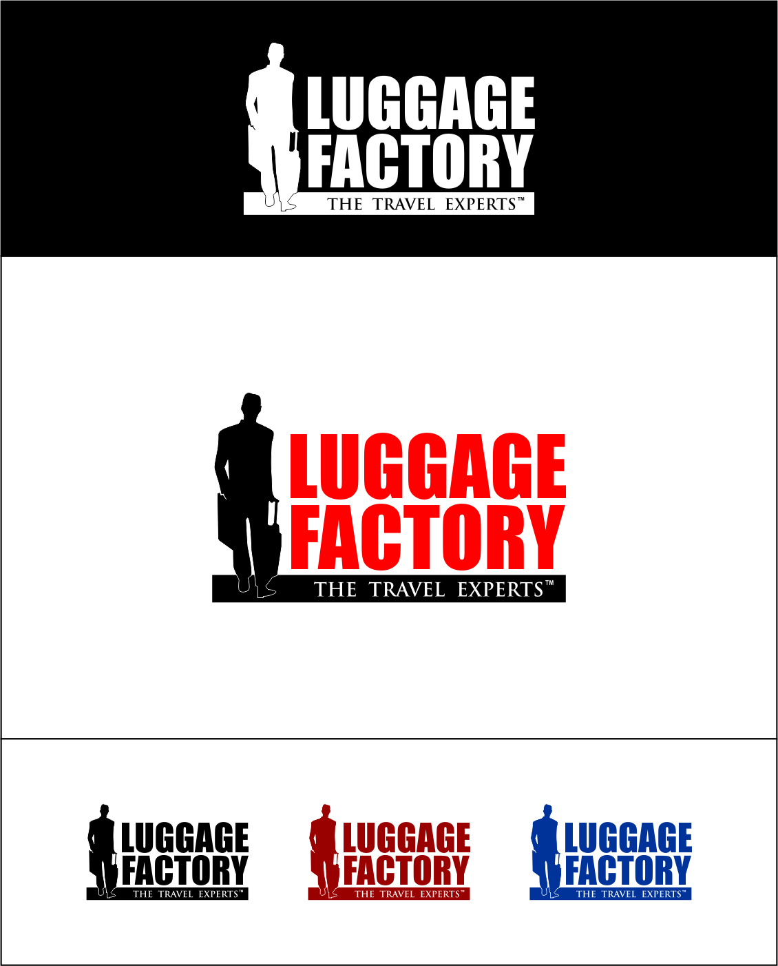 Logo Design by Agus Martoyo - Entry No. 194 in the Logo Design Contest Creative Logo Design for Luggage Factory.
