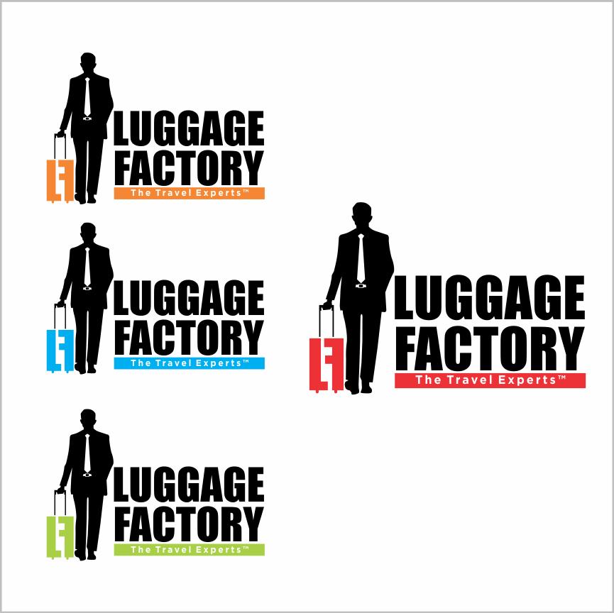 Logo Design by Armada Jamaluddin - Entry No. 195 in the Logo Design Contest Creative Logo Design for Luggage Factory.