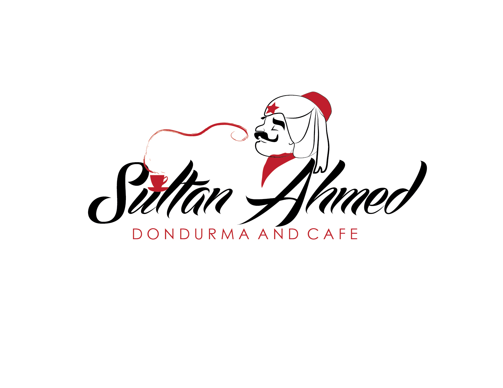 Logo Design by Milena Str - Entry No. 55 in the Logo Design Contest Unique Logo Design Wanted for Sultan Ahmed Dondurma and Cafe.