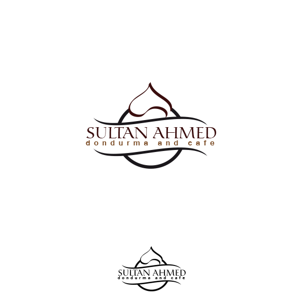 Logo Design by Ash Graphic - Entry No. 59 in the Logo Design Contest Unique Logo Design Wanted for Sultan Ahmed Dondurma and Cafe.