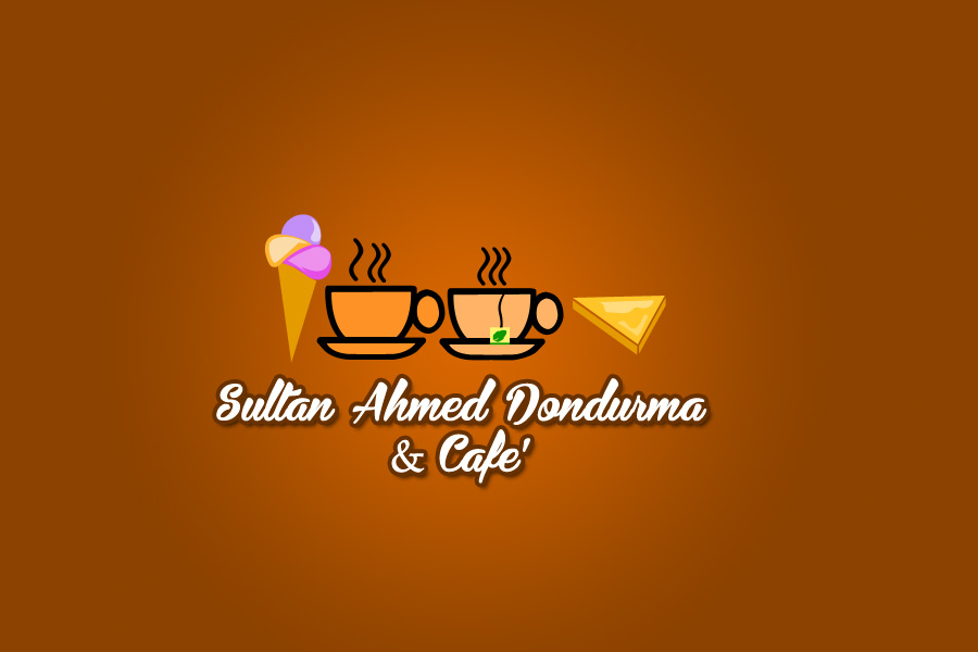 Logo Design by Private User - Entry No. 61 in the Logo Design Contest Unique Logo Design Wanted for Sultan Ahmed Dondurma and Cafe.