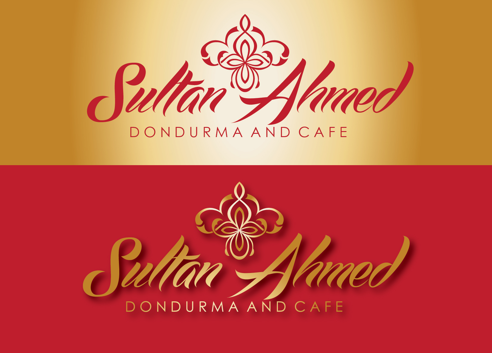 Logo Design by Milena Str - Entry No. 63 in the Logo Design Contest Unique Logo Design Wanted for Sultan Ahmed Dondurma and Cafe.