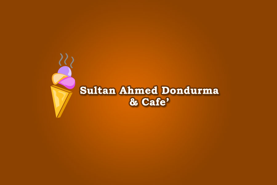 Logo Design by Private User - Entry No. 64 in the Logo Design Contest Unique Logo Design Wanted for Sultan Ahmed Dondurma and Cafe.