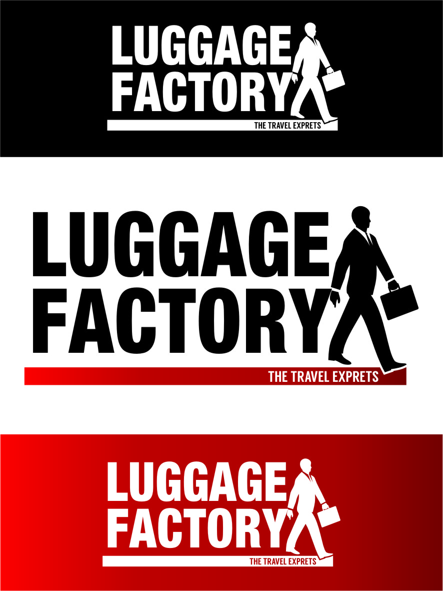 Logo Design by RasYa Muhammad Athaya - Entry No. 196 in the Logo Design Contest Creative Logo Design for Luggage Factory.