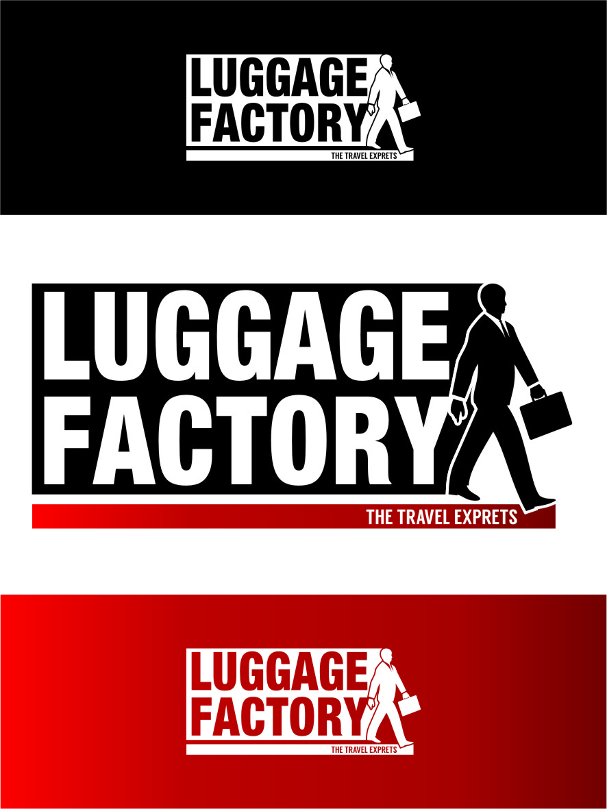 Logo Design by RasYa Muhammad Athaya - Entry No. 198 in the Logo Design Contest Creative Logo Design for Luggage Factory.