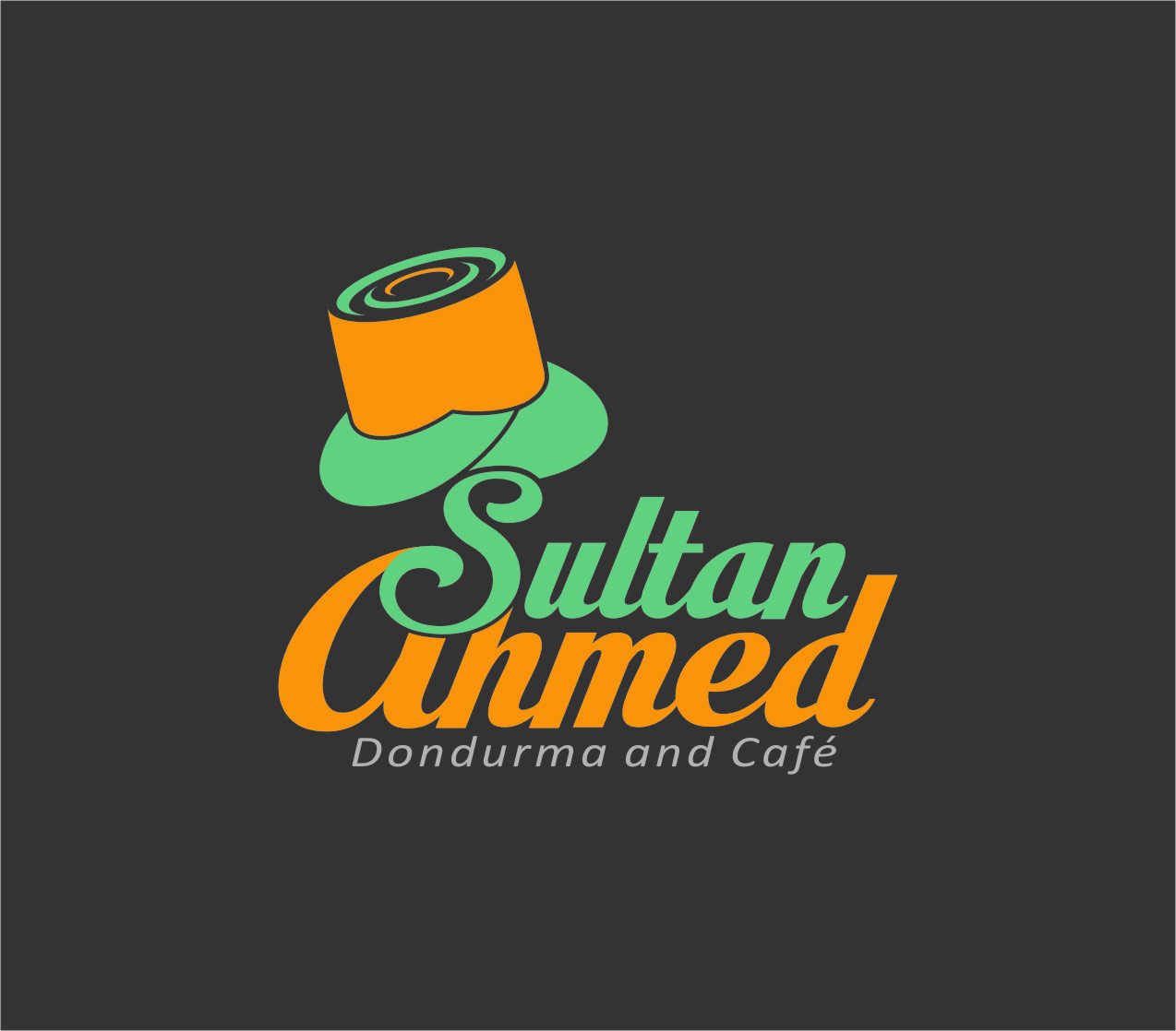 Logo Design by RasYa Muhammad Athaya - Entry No. 66 in the Logo Design Contest Unique Logo Design Wanted for Sultan Ahmed Dondurma and Cafe.
