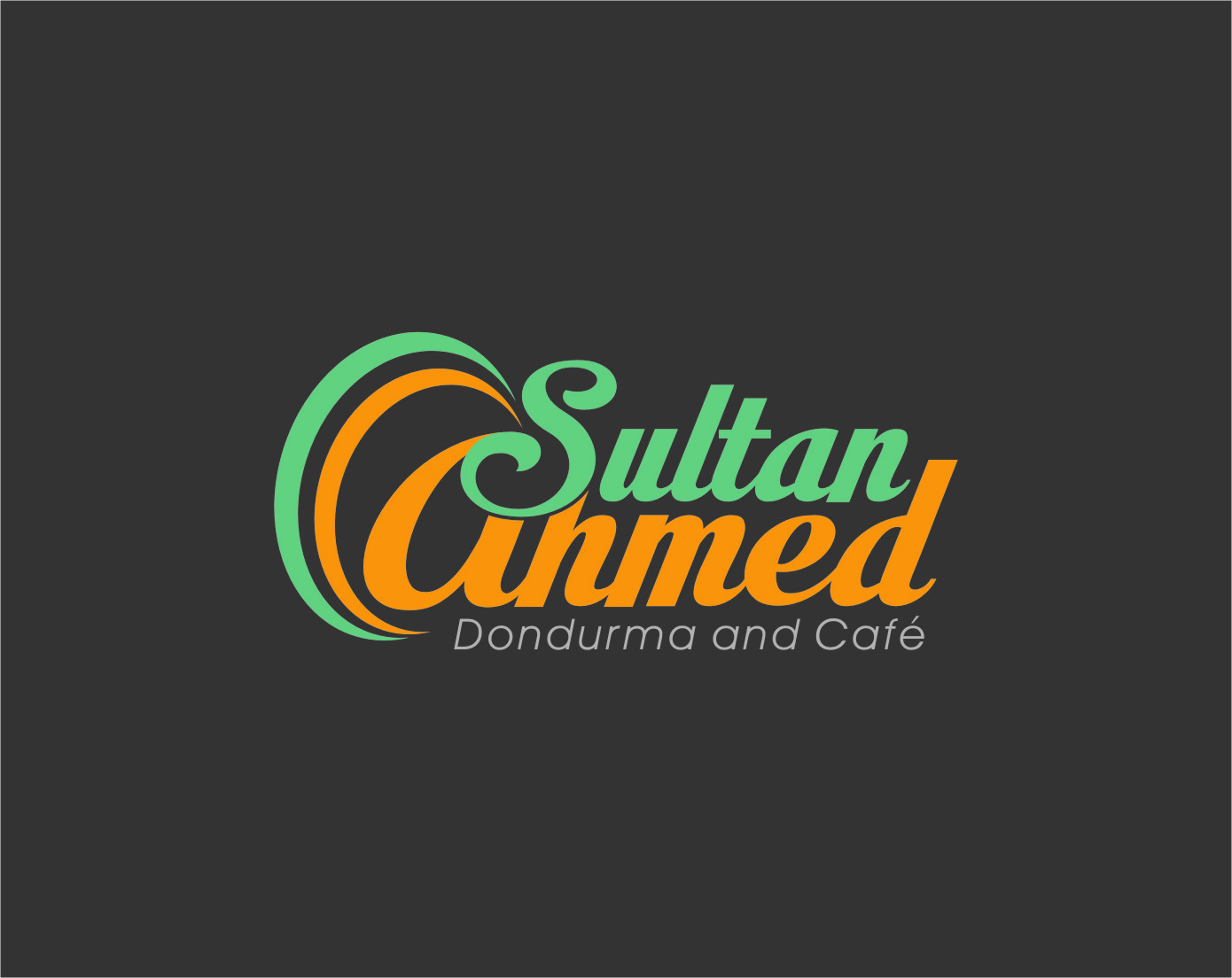 Logo Design by Ngepet_art - Entry No. 67 in the Logo Design Contest Unique Logo Design Wanted for Sultan Ahmed Dondurma and Cafe.