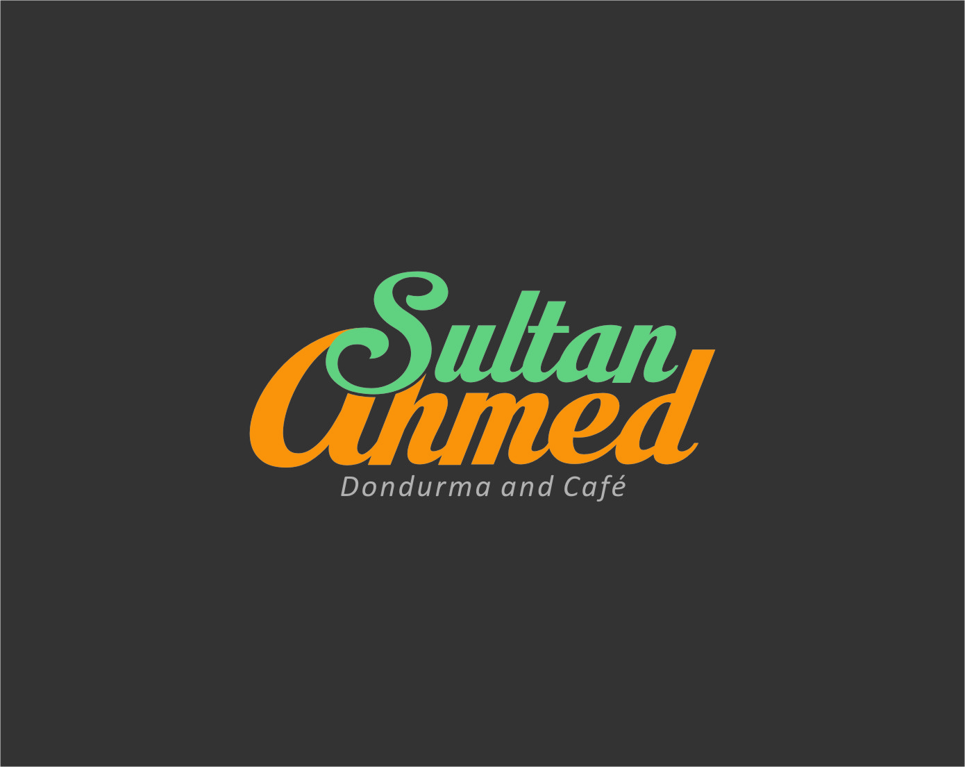 Logo Design by Ngepet_art - Entry No. 68 in the Logo Design Contest Unique Logo Design Wanted for Sultan Ahmed Dondurma and Cafe.