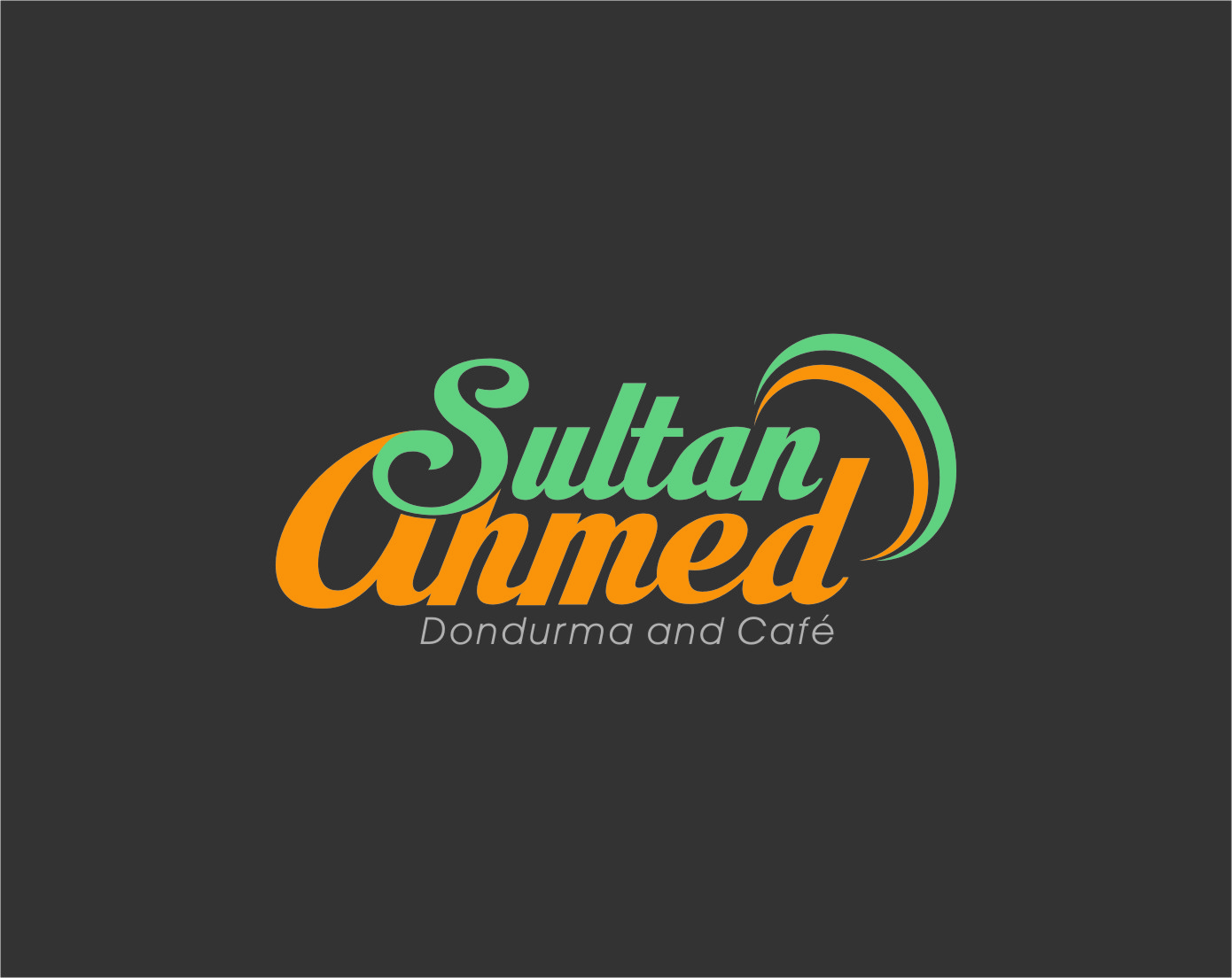 Logo Design by Ngepet_art - Entry No. 69 in the Logo Design Contest Unique Logo Design Wanted for Sultan Ahmed Dondurma and Cafe.