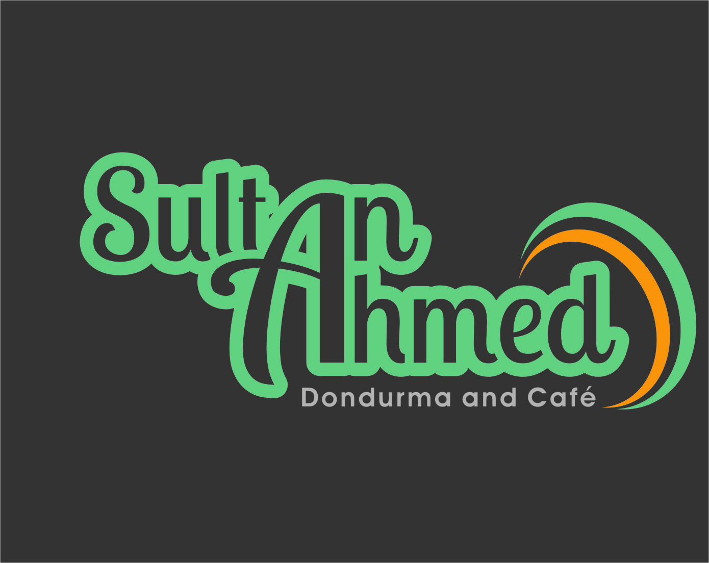 Logo Design by RasYa Muhammad Athaya - Entry No. 70 in the Logo Design Contest Unique Logo Design Wanted for Sultan Ahmed Dondurma and Cafe.
