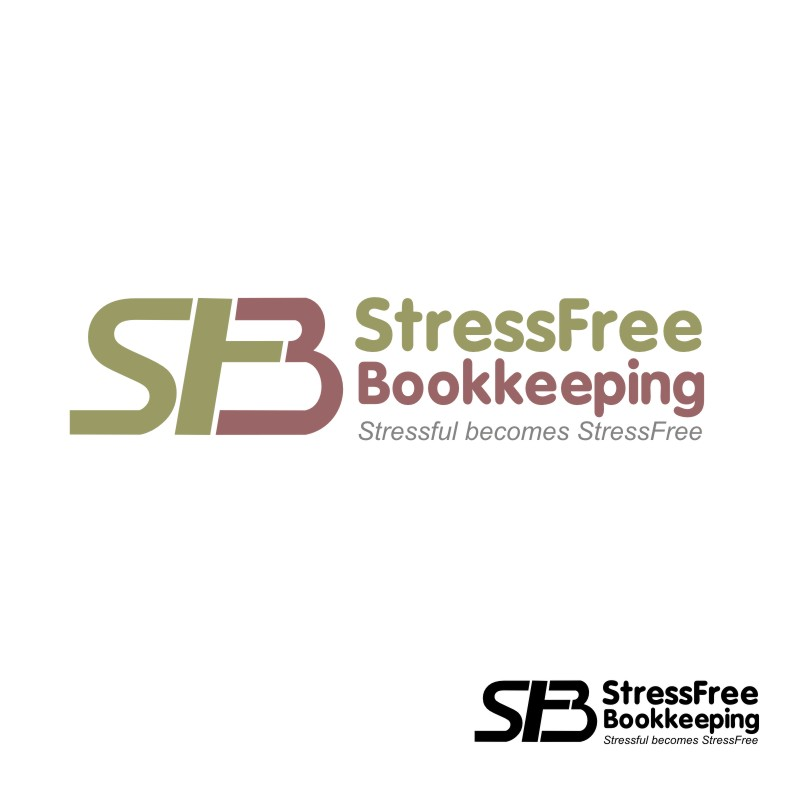 Logo Design by R1CK_ART - Entry No. 78 in the Logo Design Contest StressFree Bookkeeping.