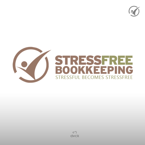 Logo Design by rockpinoy - Entry No. 79 in the Logo Design Contest StressFree Bookkeeping.