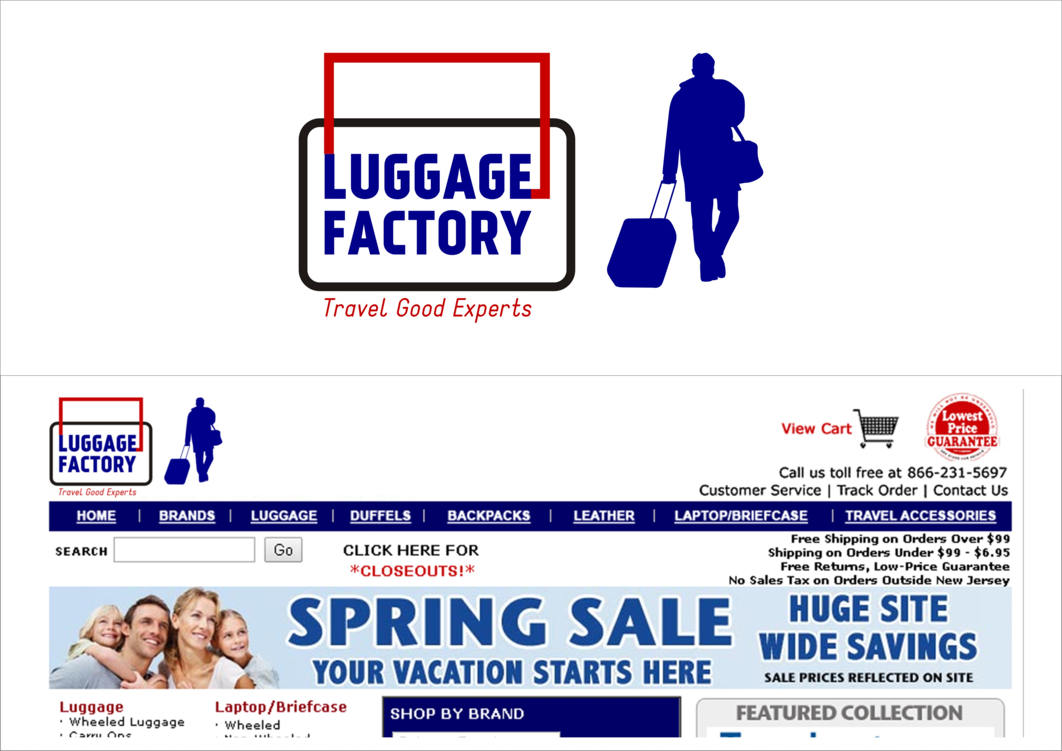 Logo Design by Amis Arc - Entry No. 223 in the Logo Design Contest Creative Logo Design for Luggage Factory.