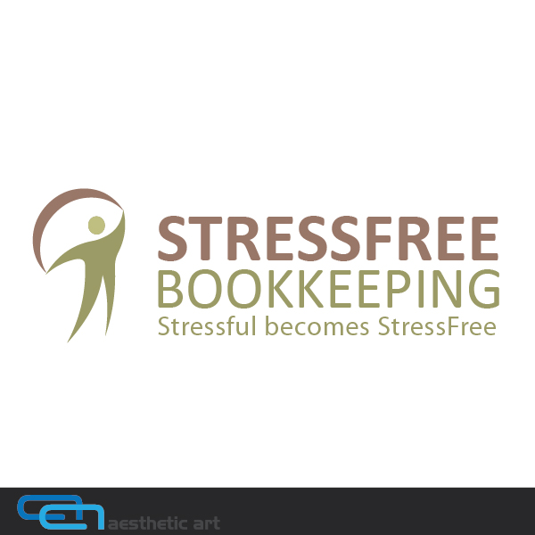 Logo Design by aesthetic-art - Entry No. 80 in the Logo Design Contest StressFree Bookkeeping.