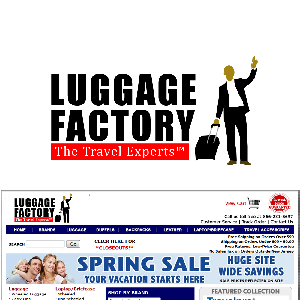 Logo Design by Brand_Man - Entry No. 228 in the Logo Design Contest Creative Logo Design for Luggage Factory.