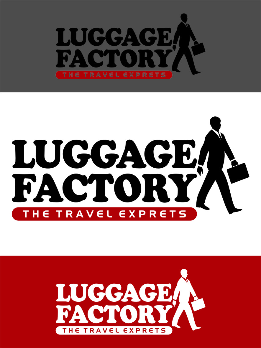 Logo Design by RasYa Muhammad Athaya - Entry No. 234 in the Logo Design Contest Creative Logo Design for Luggage Factory.