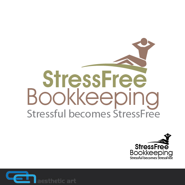 Logo Design by aesthetic-art - Entry No. 82 in the Logo Design Contest StressFree Bookkeeping.