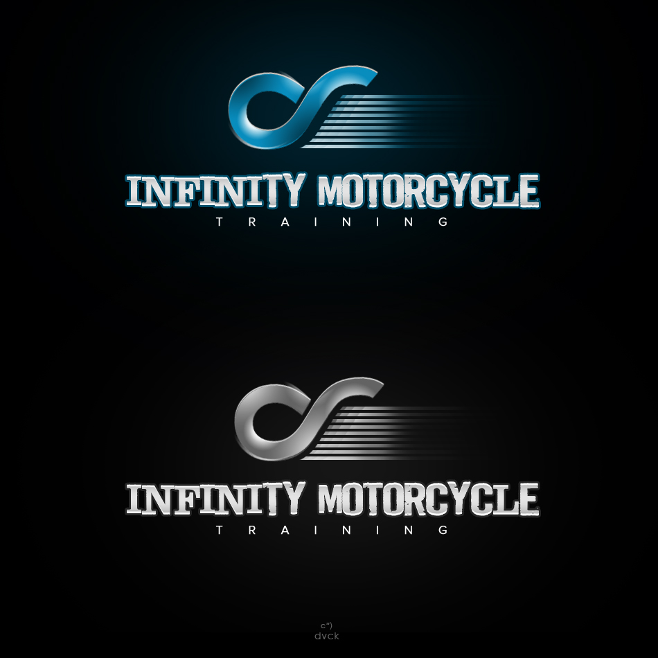Logo Design by rockpinoy - Entry No. 9 in the Logo Design Contest INFINITY MOTORCYCLE TRAINING.