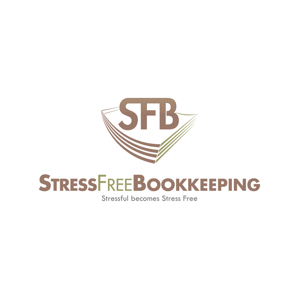 Logo Design by a-m-b-i-e-n-t - Entry No. 85 in the Logo Design Contest StressFree Bookkeeping.