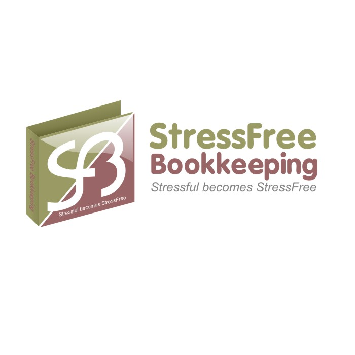 Logo Design by R1CK_ART - Entry No. 91 in the Logo Design Contest StressFree Bookkeeping.