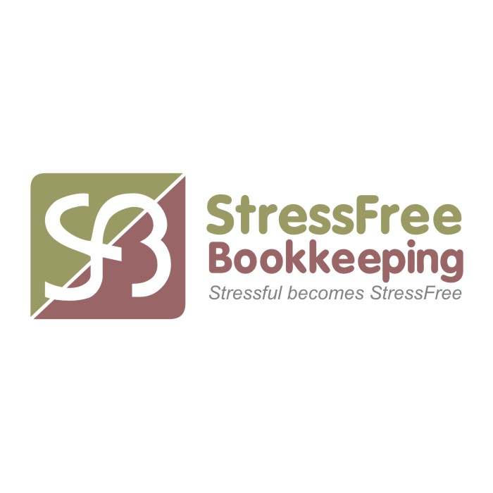Logo Design by R1CK_ART - Entry No. 92 in the Logo Design Contest StressFree Bookkeeping.