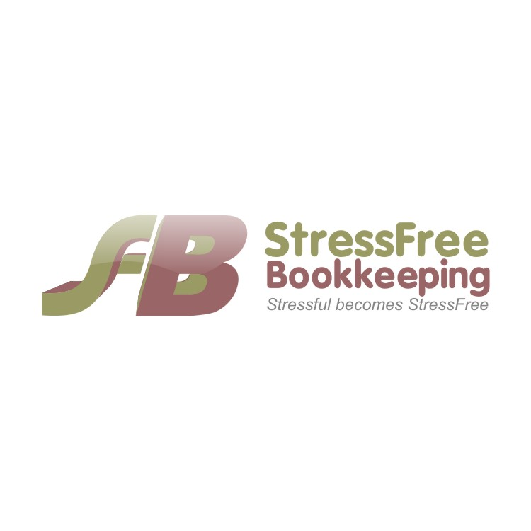 Logo Design by R1CK_ART - Entry No. 97 in the Logo Design Contest StressFree Bookkeeping.