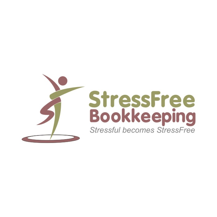 Logo Design by R1CK_ART - Entry No. 98 in the Logo Design Contest StressFree Bookkeeping.