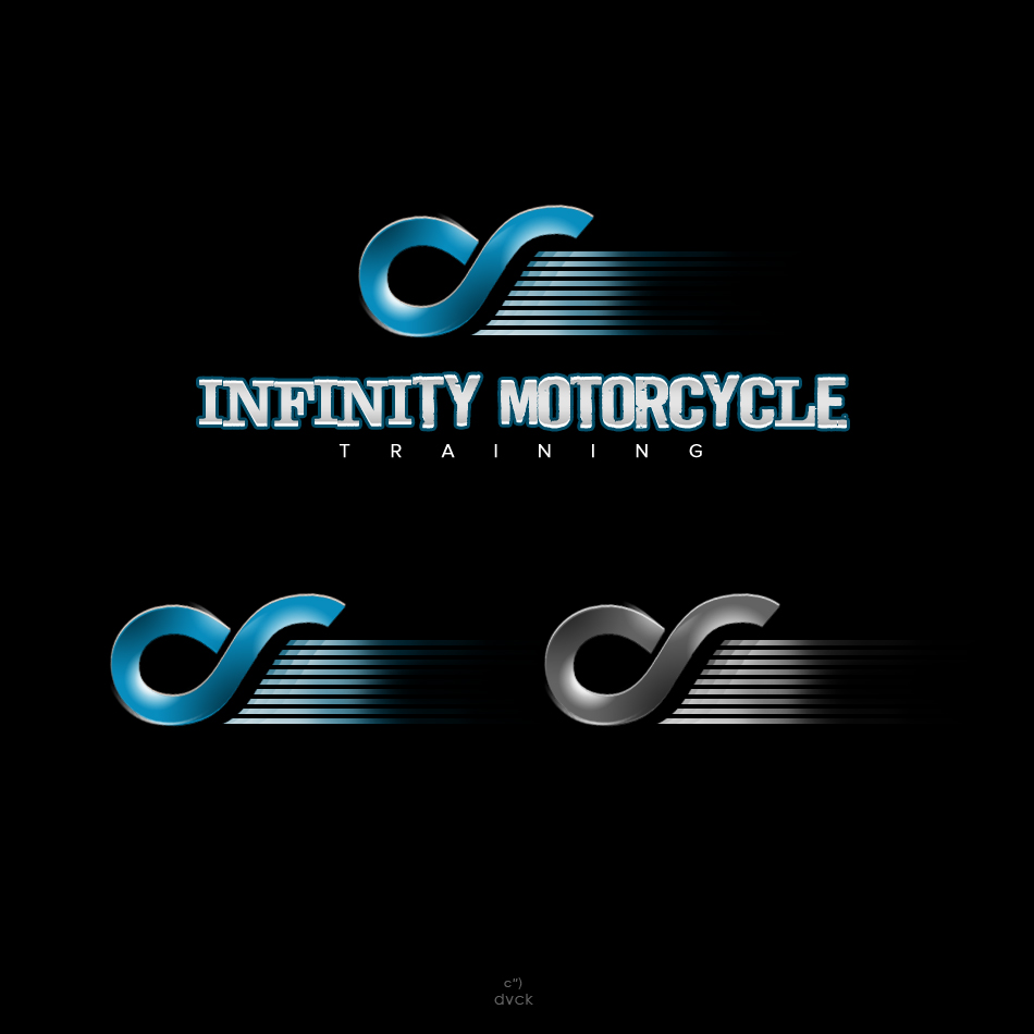 Logo Design by rockpinoy - Entry No. 12 in the Logo Design Contest INFINITY MOTORCYCLE TRAINING.