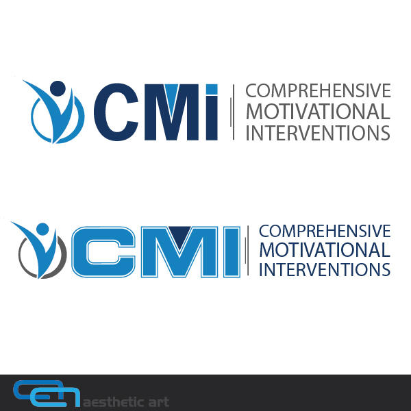Logo Design by aesthetic-art - Entry No. 108 in the Logo Design Contest CMI (Comprehensive Motivational Interventions).