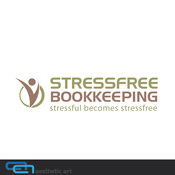 Logo Design by aesthetic-art - Entry No. 106 in the Logo Design Contest StressFree Bookkeeping.