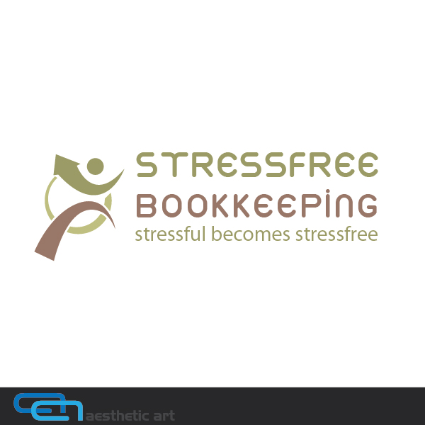 Logo Design by aesthetic-art - Entry No. 107 in the Logo Design Contest StressFree Bookkeeping.