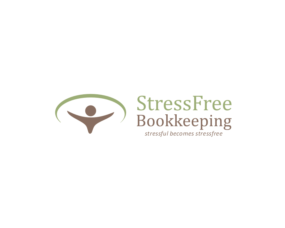 Logo Design by Ifan Afandie - Entry No. 119 in the Logo Design Contest StressFree Bookkeeping.