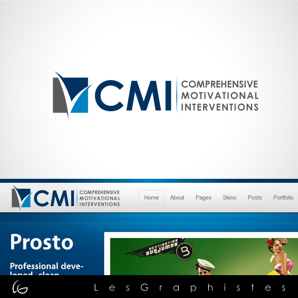 Logo Design by Les-Graphistes - Entry No. 119 in the Logo Design Contest CMI (Comprehensive Motivational Interventions).