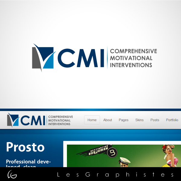 Logo Design by Les-Graphistes - Entry No. 120 in the Logo Design Contest CMI (Comprehensive Motivational Interventions).