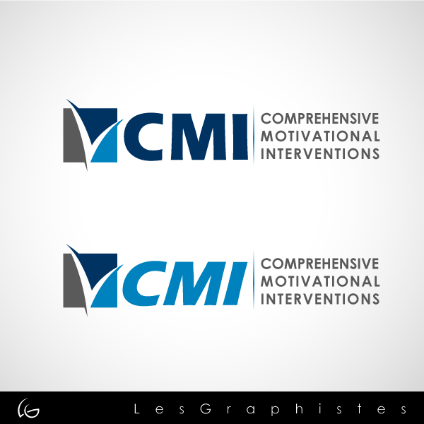 Logo Design by Les-Graphistes - Entry No. 121 in the Logo Design Contest CMI (Comprehensive Motivational Interventions).