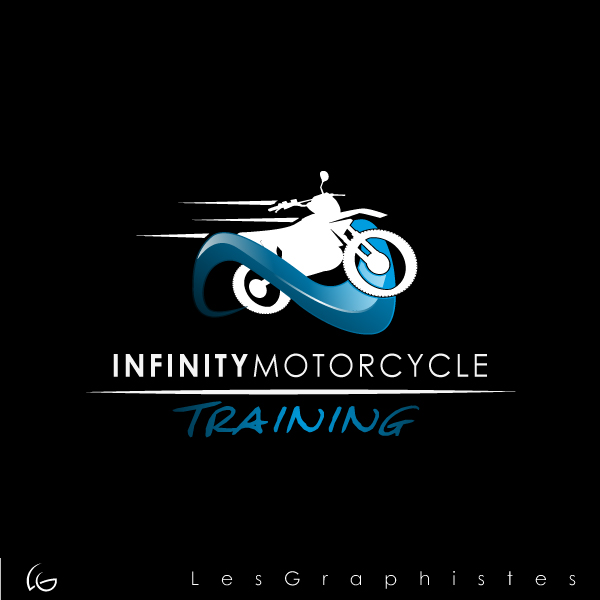 Logo Design by Les-Graphistes - Entry No. 17 in the Logo Design Contest INFINITY MOTORCYCLE TRAINING.